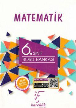 Karekök Yayınları 6. Sınıf Matematik Soru Bankası