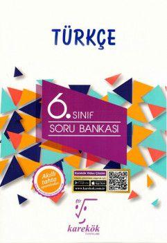 Karekök Yayınları 6. Sınıf Türkçe Soru Bankası