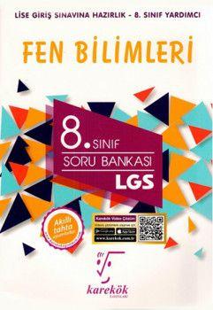 Karekök Yayınları 8. Sınıf LGS Fen Bilimleri Soru Bankası