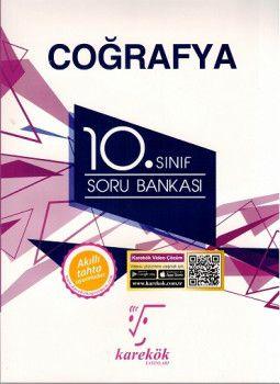 Karekök Yayınları 10. Sınıf Coğrafya Soru Bankası
