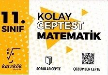 Karekök Yayınları 11. Sınıf Matematik Kolay Cep Test