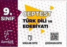 Karekök Yayınları 9. Sınıf Türk Dili ve Edebiyatı Cep Test