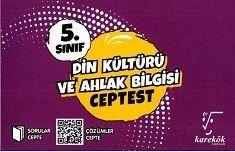 Karekök Yayınları 5. Sınıf Din Kültürü ve Ahlak Bilgisi Cep Test