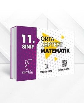 Karekök Yayınları 11. Sınıf Matematik Orta Cep Test
