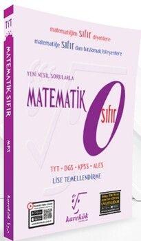 Karekök Yayınları Yeni Nesil Sorularla Matematik SIFIR