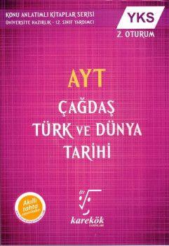 Karekök Yayınları AYT Çağdaş Türk ve Dünya Tarihi
