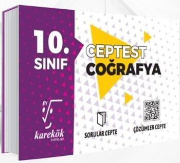 Karekök Yayınları10. Sınıf Coğrafya Cep Test