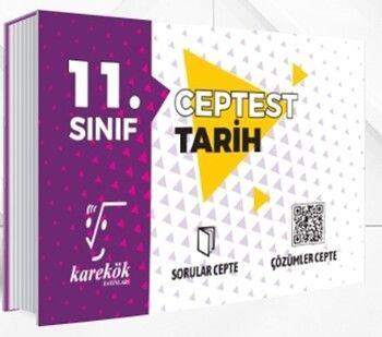 Karekök Yayınları11. Sınıf Tarih Cep Test