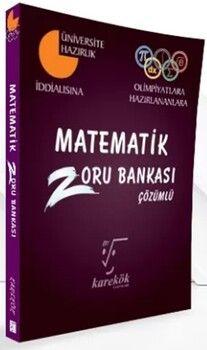 Karekök Yayınları Matematik Zoru Bankası Çözümlü