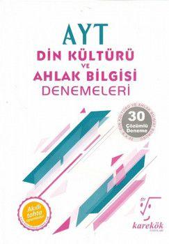 Karekök Yayınları AYT Din Kültürü ve Ahlak Bilgisi 30lu Deneme