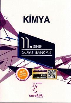 Karekök Yayınları 11. Sınıf Kimya Soru Bankası