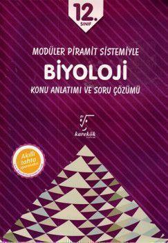 Karekök Yayınları 12. Sınıf Biyoloji Konu Anlatımı ve Soru Çözümü