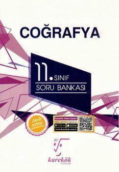 Karekök Yayınları 11. Sınıf Coğrafya Soru Bankası