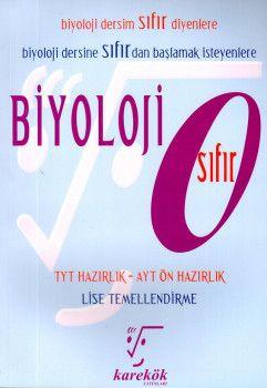 Karekök Yayınları Biyoloji Sıfır