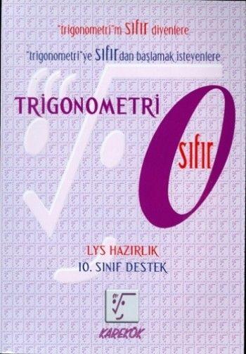 Karekök Yayınları Trigonometri  0