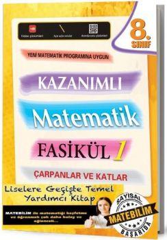 Karekod Yayınları 8. Sınıf Kazanımlı Matematik Fasikül 1 Çarpanlar ve Katlar
