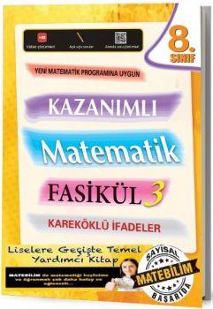 Karekod Yayınları 8. Sınıf Kazanımlı Matematik Fasikül 3 Kareköklü İfadeler