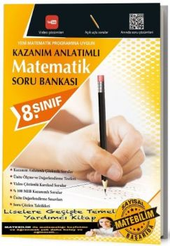 Karekod Yayınları 8. Sınıf Kazanım Anlatımlı Matematik Soru Bankası