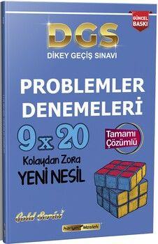 Kariyer Meslek 2021 DGS Problemler 9x20 Çözümlü Gold Serisi Yeni Nesil Denemeleri