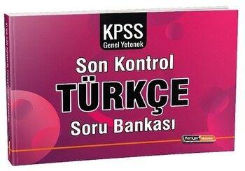 Kariyer Meslek 2021 KPSS Türkçe Son Kontrol Soru Bankası