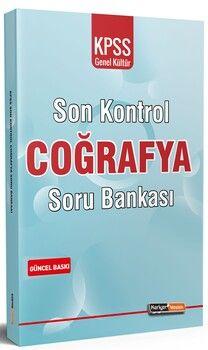 Kariyer Meslek 2021 KPSS Genel Kültür Coğrafya Son Kontrol Soru Bankası