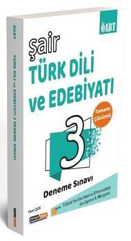 Kariyer Meslek ÖABT Türk Dili Edebiyatı Şair 3 Deneme Çözümlü