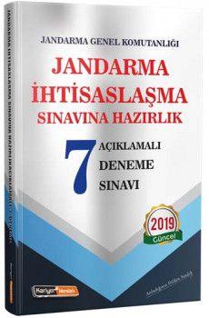Kariyer Meslek Jandarma İhtisaslaşma Sınavlarına Hazırlık Açıklamalı 7 Deneme Sınavı