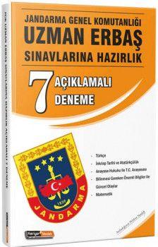 Kariyer Meslek Jandarma Genel Komutanlığı Uzman Erbaş Sınavlarına Açıklamalı 7 Deneme Sınavı