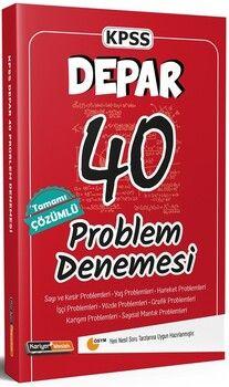 Kariyer Meslek KPSS Depar 40 Problem Tamamı Çözümlü Denemesi