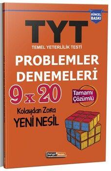 Kariyer Meslek TYT 9 x 20 Çözümlü Yeni Nesil Problemler Denemeleri