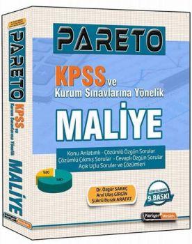 Kariyer Meslek Yayınları KPSS ve Tüm Kurum Sınavlarına Yönelik Pareto Maliye Konu Anlatımlı