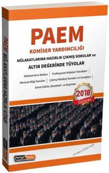Kariyer Meslek Yayınları PAEM Komiser Yardımcılığı Mülakatlarına Hazırlık Çıkmış Sorular ve Altın Değerinde Tüyolar