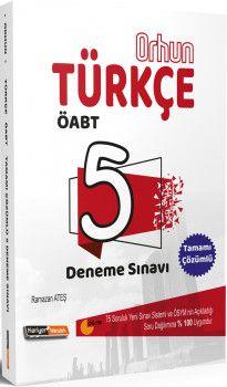 Kariyer Meslek Yayınları ÖABT Türkçe Orhun 5 Deneme Sınavı
