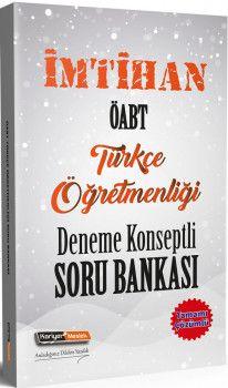 Kariyer Meslek Yayınları ÖABT Türkçe Öğretmenliği İmtihan Deneme Konseptli Soru Bankası
