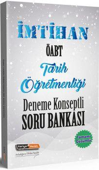 Kariyer Meslek Yayınları ÖABT Tarih Öğretmenliği İmtihan Deneme Konseptli Soru Bankası