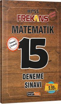 Kariyer Meslek Yayınları KPSS Matematik Frekans 15 Deneme Sınavı
