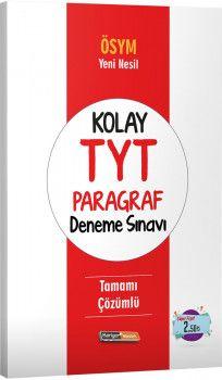 Kariyer Meslek Yayınları Kolay TYT Paragraf Deneme Sınavı
