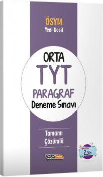 Kariyer Meslek Yayınları Orta TYT Paragraf Deneme Sınavı