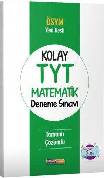 Kariyer Meslek Yayınları Kolay TYT Matematik Deneme Sınavı