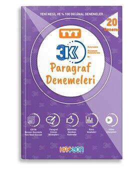Katyon Yayınları TYT 3K Paragraf Denemeleri 20 Deneme