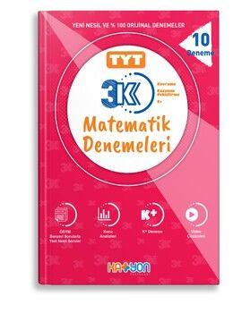 Katyon Yayınları TYT 3K Matematik Denemeleri