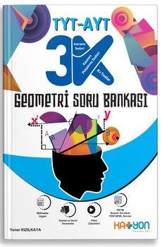 Katyon Yayınları TYT AYT Geometri 3K Soru Bankası