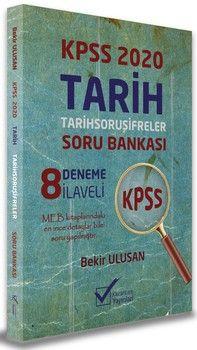 Kazancam Yayınları 2020 KPSS Tarih Soru Şifreler 8 Deneme İlaveli Soru Bankası