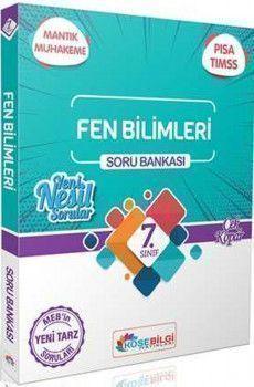 KöşeBilgi Yayınları 7. Sınıf Fen Bilimleri Özet Bilgili Soru Bankası