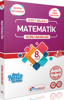 KöşeBilgi Yayınları 8. Sınıf Matematik Özet Bilgili Soru Bankası