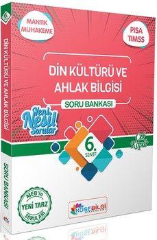 KöşeBilgi Yayınları 6. Sınıf Din Kültürü ve Ahlak Bilgisi Soru Bankası