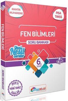 KöşeBilgi Yayınları 6. Sınıf Fen Bilimleri Soru Bankası