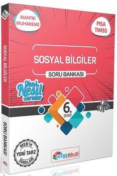 KöşeBilgi Yayınları 6. Sınıf Sosyal Bilgiler Soru Bankası