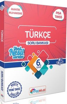 KöşeBilgi Yayınları 6. Sınıf Türkçe Soru Bankası