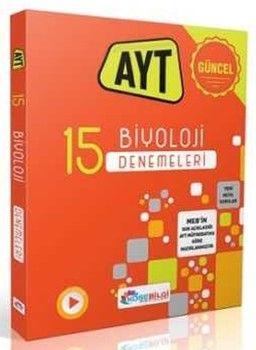KöşeBilgi Yayınları AYT Biyoloji 15 Branş Denemesi